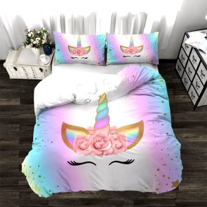 HOUSSE DE COUETTE LICORNE MAGICAL DAY N-1