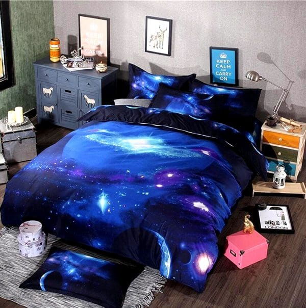 HOUSSE COUETTE LICORNE INTERSTELLAIRE