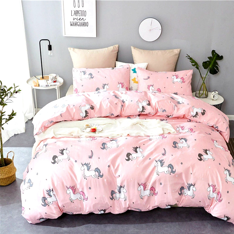 HOUSSE COUETTE LICORNE ADORABLE