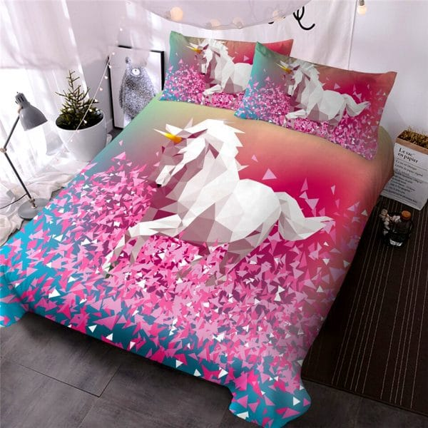 HOUSSE COUETTE LICORNE COOL ROOM