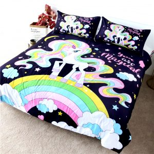 HOUSSE COUETTE LICORNE MAGICAL N2