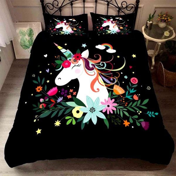HOUSSE COUETTE LICORNE COOL ROOM N-1